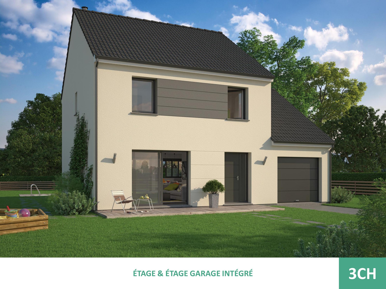 Maisons + Terrains du constructeur MAISON FAMILIALE VILLE DU BOIS • 90 m² • ETAMPES