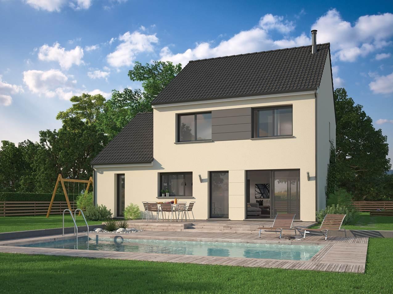 Maisons + Terrains du constructeur MAISON FAMILIALE VILLE DU BOIS • 95 m² • ARPAJON