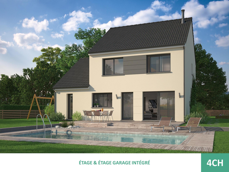 Maisons + Terrains du constructeur MAISON FAMILIALE VILLE DU BOIS • 95 m² • BREUILLET