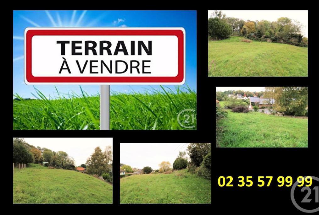 Terrains du constructeur CENTURY 21 ACCORE • 968 m² • SAINT VALERY EN CAUX