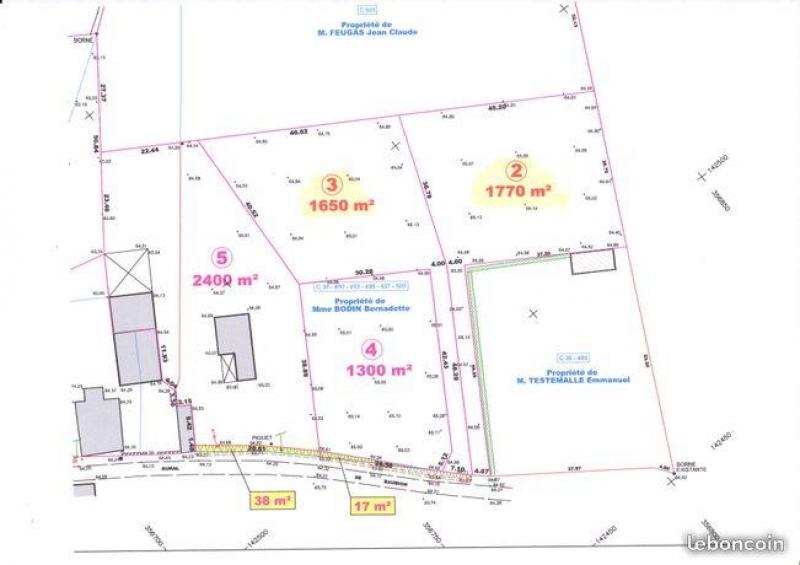 Terrains du constructeur FIDANTZIA IMMOBILIER • 1650 m² • ORTHEZ