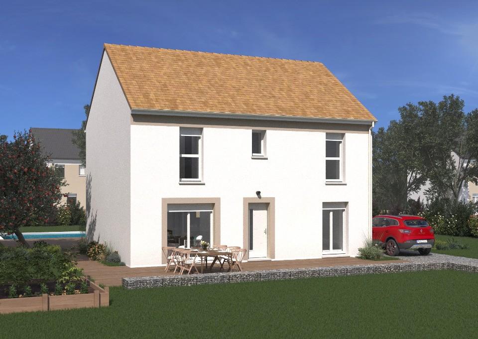 Maisons + Terrains du constructeur MAISONS BALENCY • 124 m² • CHALIFERT