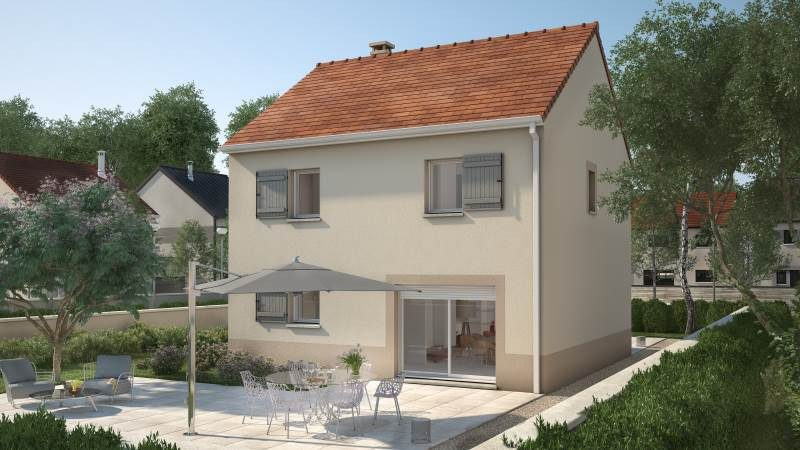 Maisons + Terrains du constructeur MAISONS BALENCY • 83 m² • SAINT PATHUS