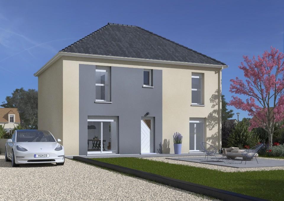 Maisons + Terrains du constructeur MAISONS BALENCY • 124 m² • SAINT PATHUS