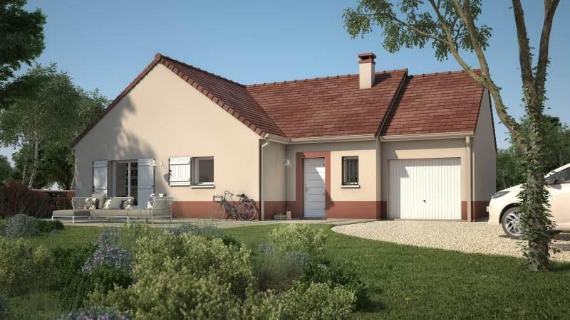 Maisons + Terrains du constructeur MAISONS FRANCE CONFORT • 90 m² • JOUY LE CHATEL
