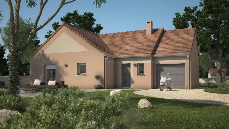 Maisons + Terrains du constructeur MAISONS FRANCE CONFORT • 90 m² • TOUQUIN