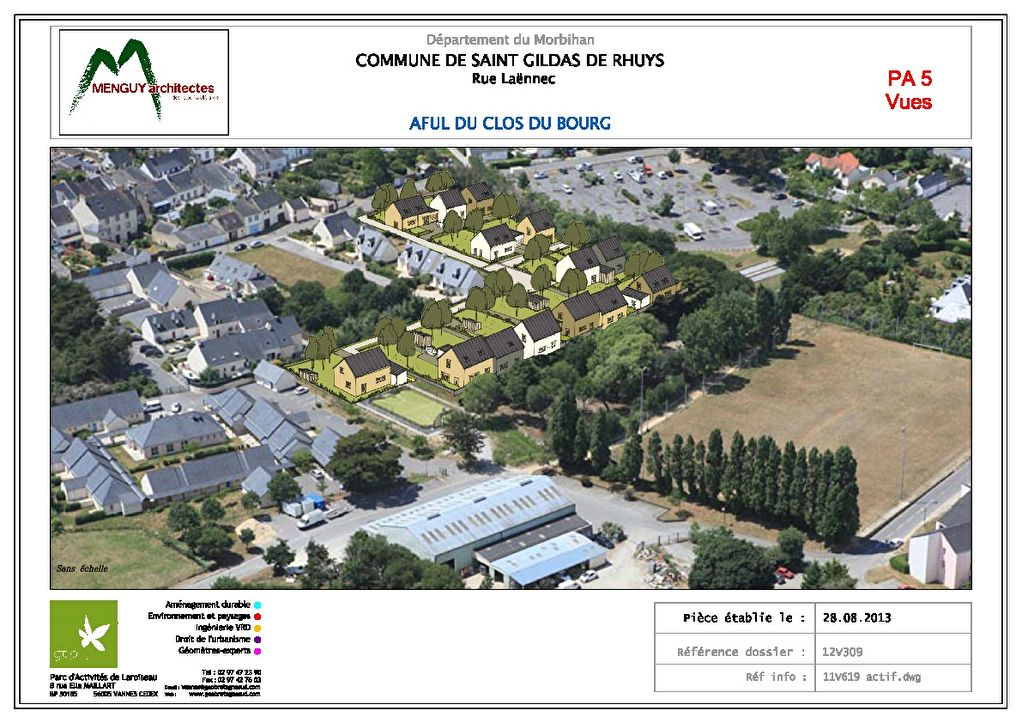 Terrains du constructeur BENEAT CHAUVEL • 400 m² • SAINT GILDAS DE RHUYS