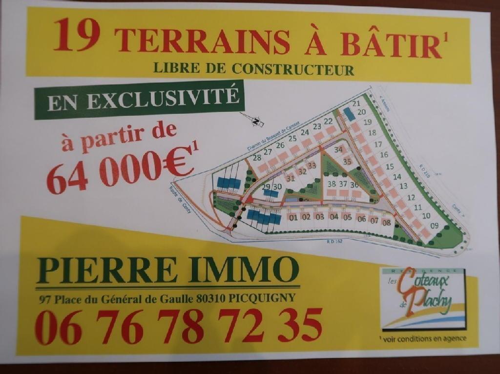 Terrains du constructeur SYLVIE IMMO • 0 m² • PLACHY BUYON