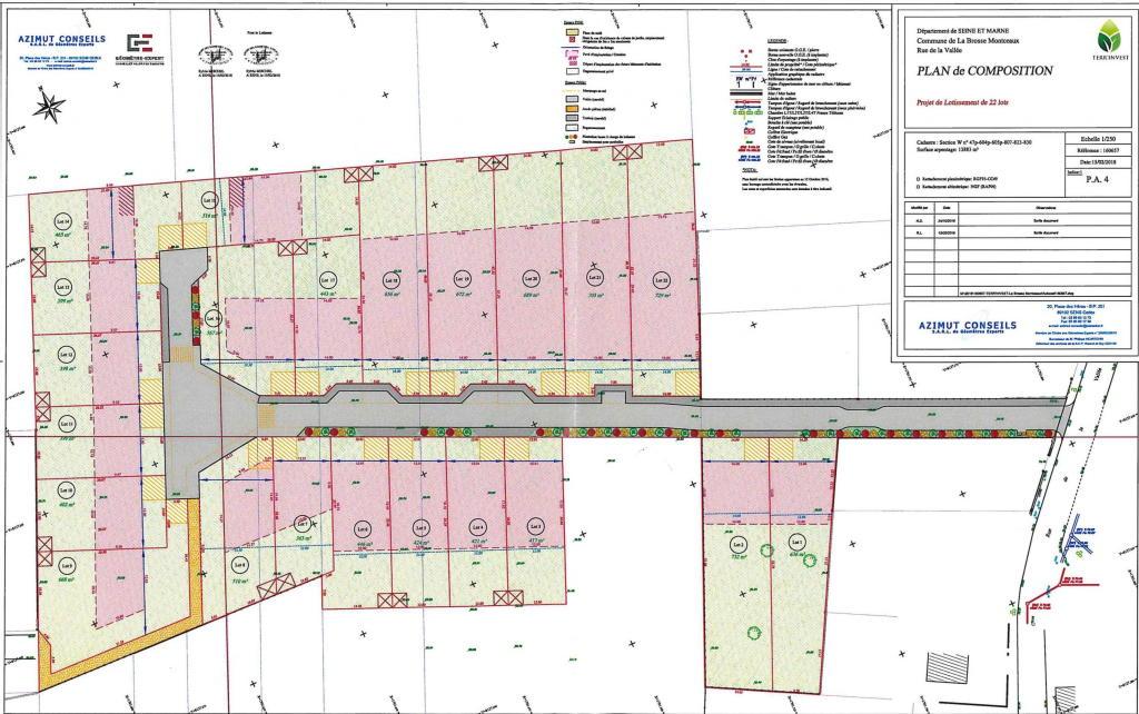 Terrains du constructeur 3 A CONSEIL • 446 m² • MONTEREAU FAULT YONNE