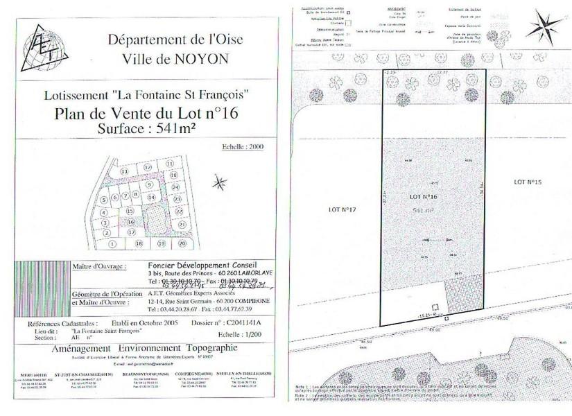 Terrains du constructeur 3G IMMO CONSULTANT • 541 m² • NOYON