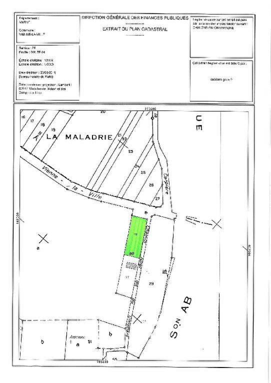 Terrains du constructeur LAFORÊT IMMOBILIER - AGENCE IMMOBILIERE DU NAU • 1670 m² • VIENNE LA VILLE