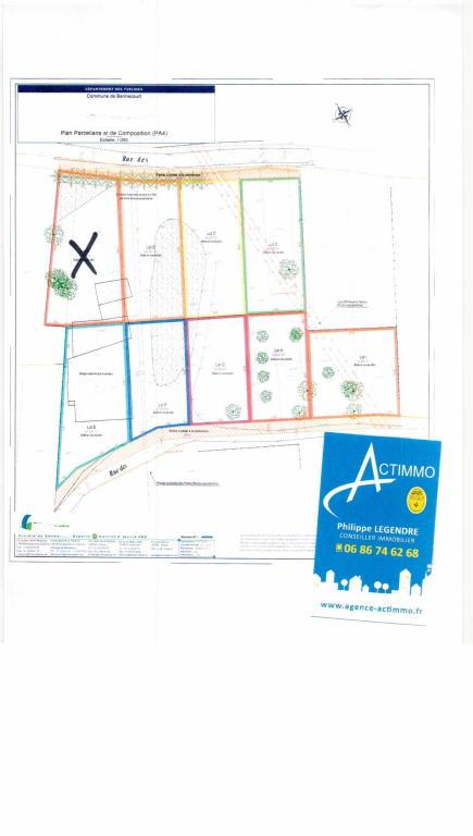 Terrains du constructeur ACTIMMO • 653 m² • BENNECOURT