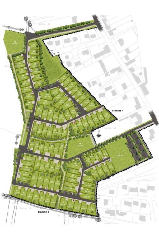 Terrains du constructeur ACANTHE • 465 m² • MONTREUIL SUR ILLE