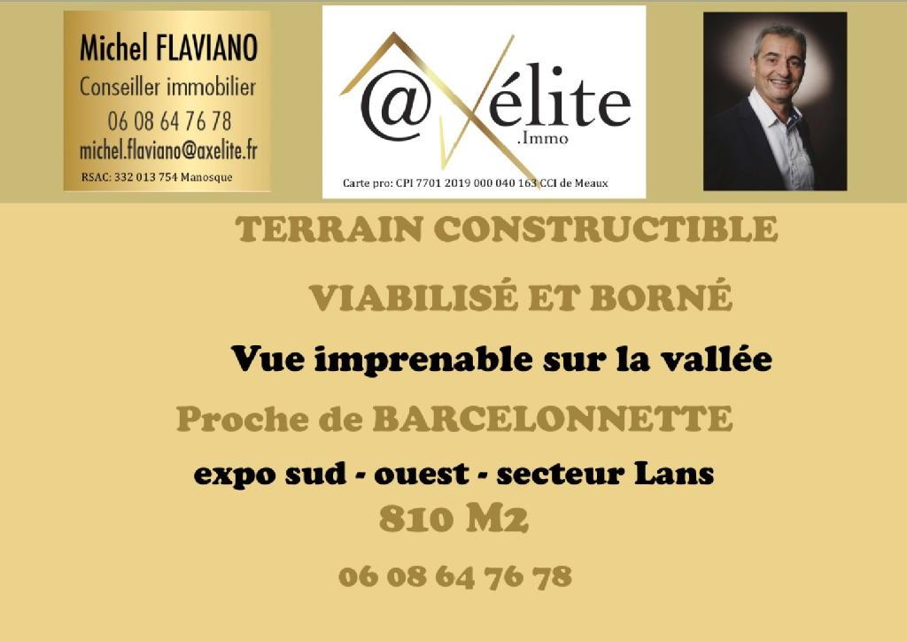 Terrains du constructeur AXELITE IMMO • 810 m² • BARCELONNETTE