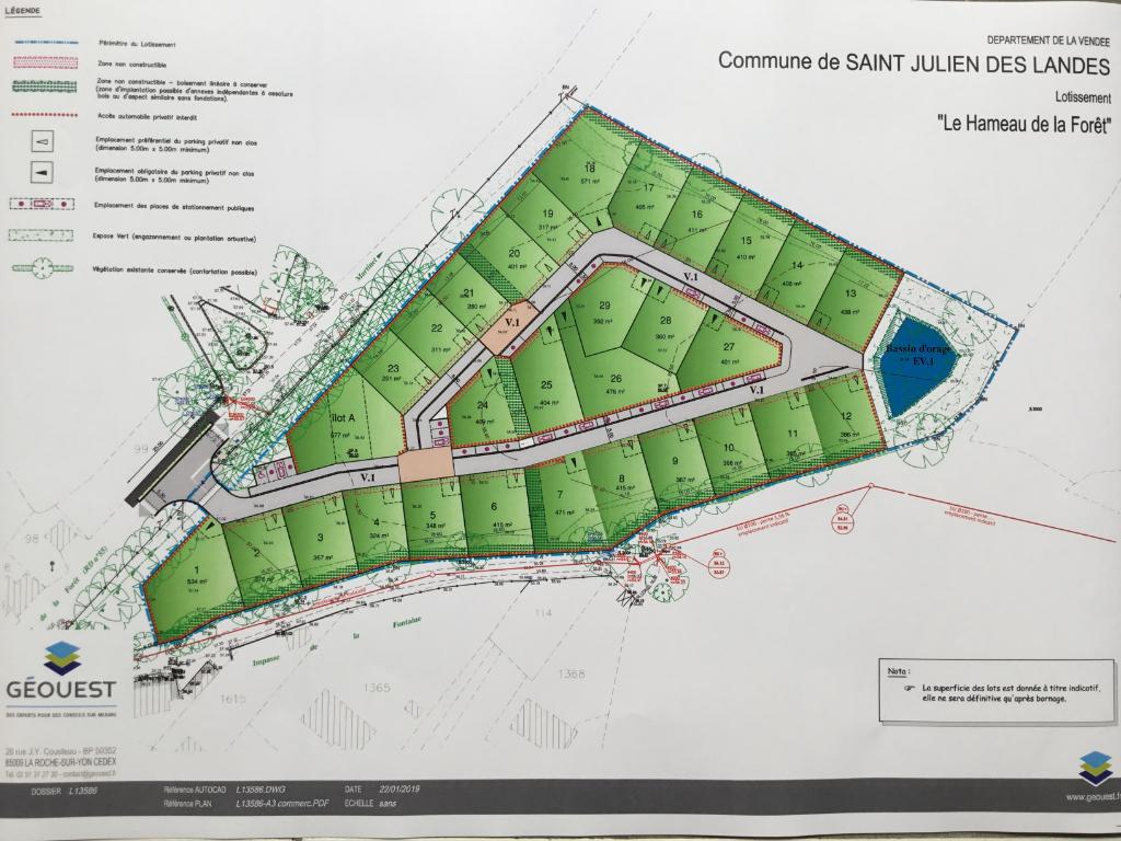 Terrains du constructeur LA MOTHE IMMOBILIER • 291 m² • SAINT JULIEN DES LANDES