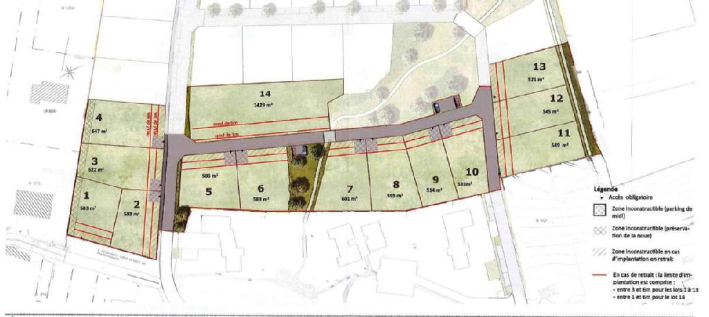Terrains du constructeur VAL TOURAINE HABITAT • 583 m² • NOUZILLY