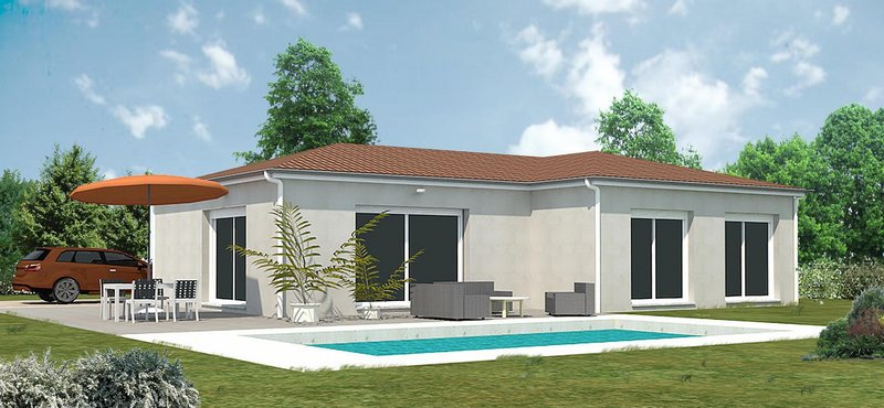 Maisons du constructeur MR Construction • 85 m² • MONTBRISON