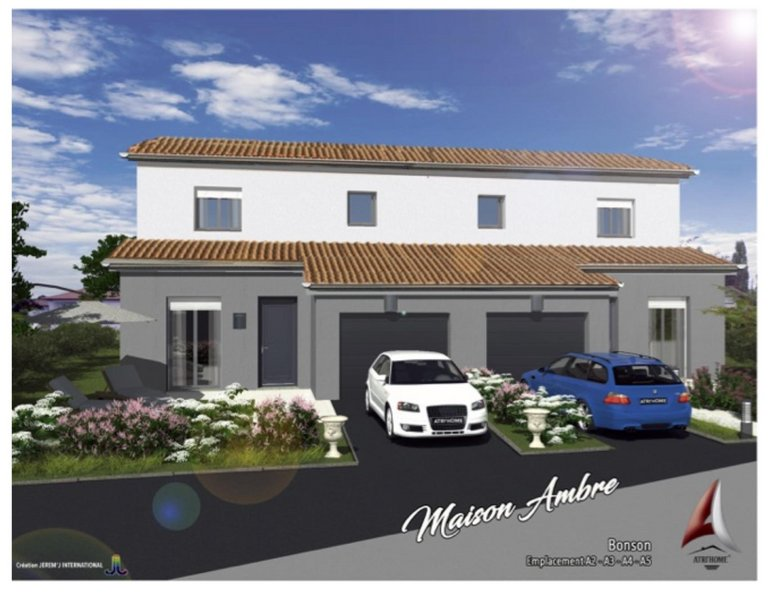 Maisons du constructeur MR Construction • 84 m² • BONSON