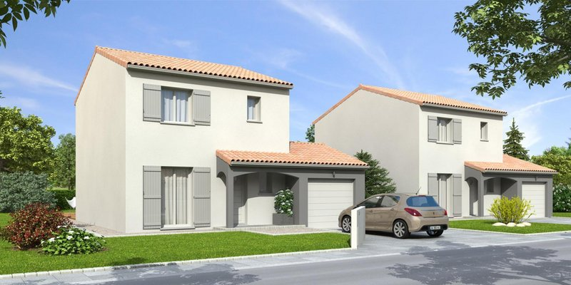 Maisons du constructeur MR Construction • 110 m² • MONTBRISON