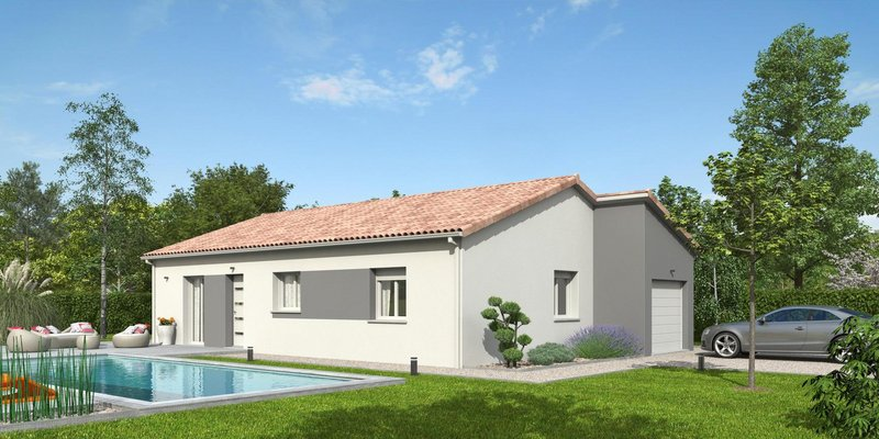 Maisons du constructeur MR Construction • 88 m² • BONSON