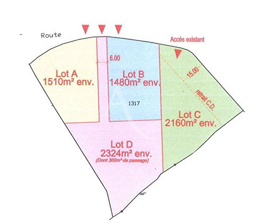 Terrains du constructeur L ADRESSE TALMONT ST HILAIRE • 1460 m² • GROSBREUIL