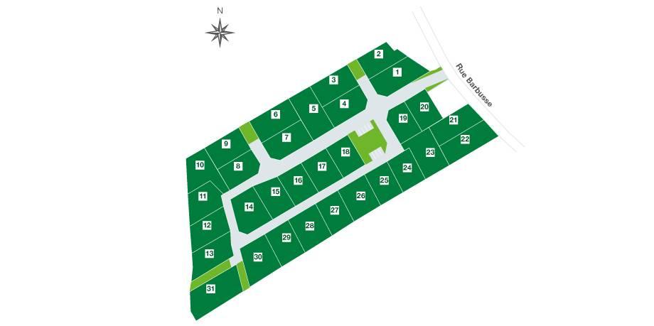 Terrains du constructeur TERRITOIRES SOIXANTE DEUX • 466 m² • LAPUGNOY