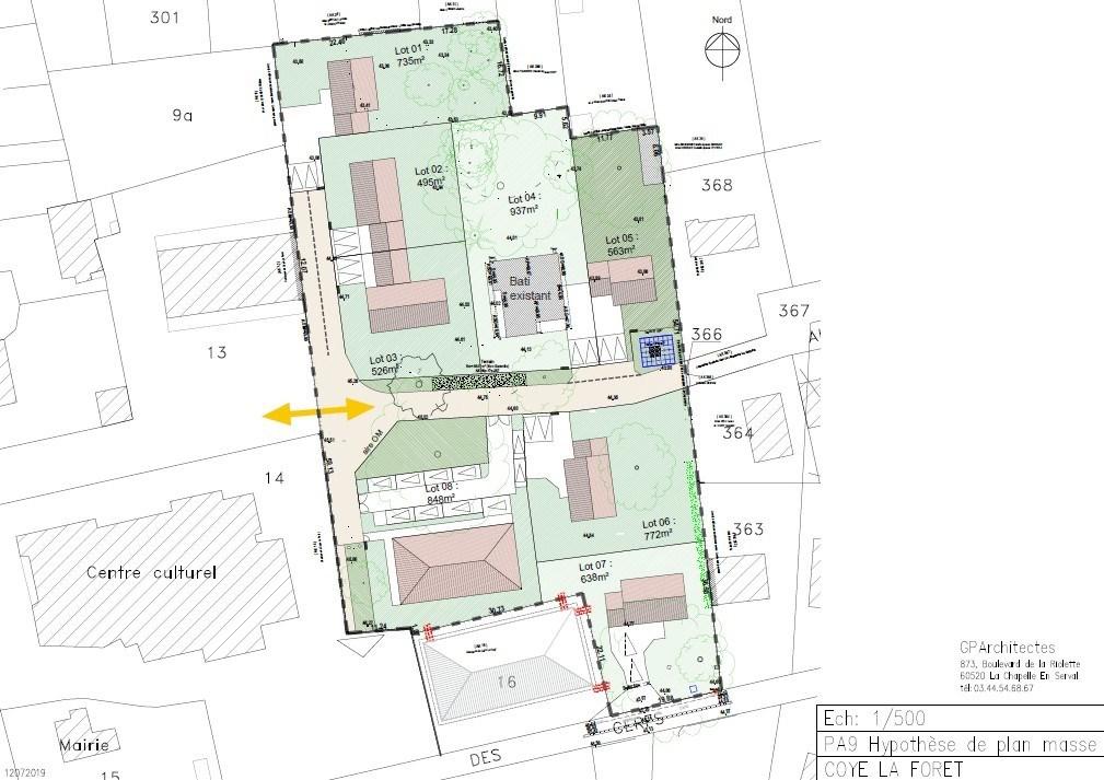 Terrains du constructeur FLINT IMMOBILIER • 563 m² • COYE LA FORET
