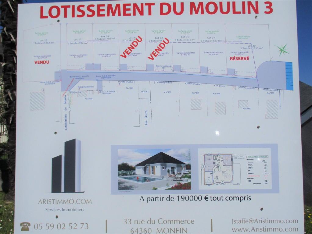 Terrains du constructeur ARISTIMMO • 795 m² • MONEIN