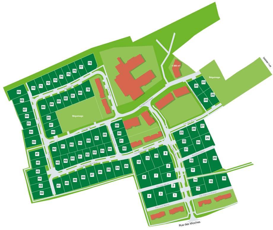 Terrains du constructeur TERRITOIRES SOIXANTE DEUX • 697 m² • LESTREM