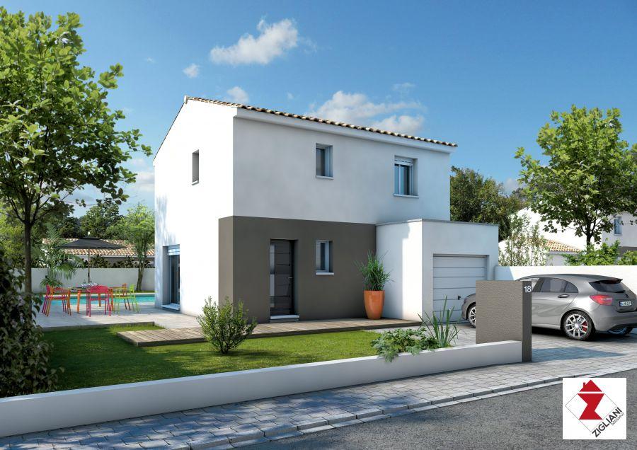 Maisons du constructeur ZIGLIANI BATISSEUR - AGENCE DE MONTPELLIER • 85 m² • BESSAN