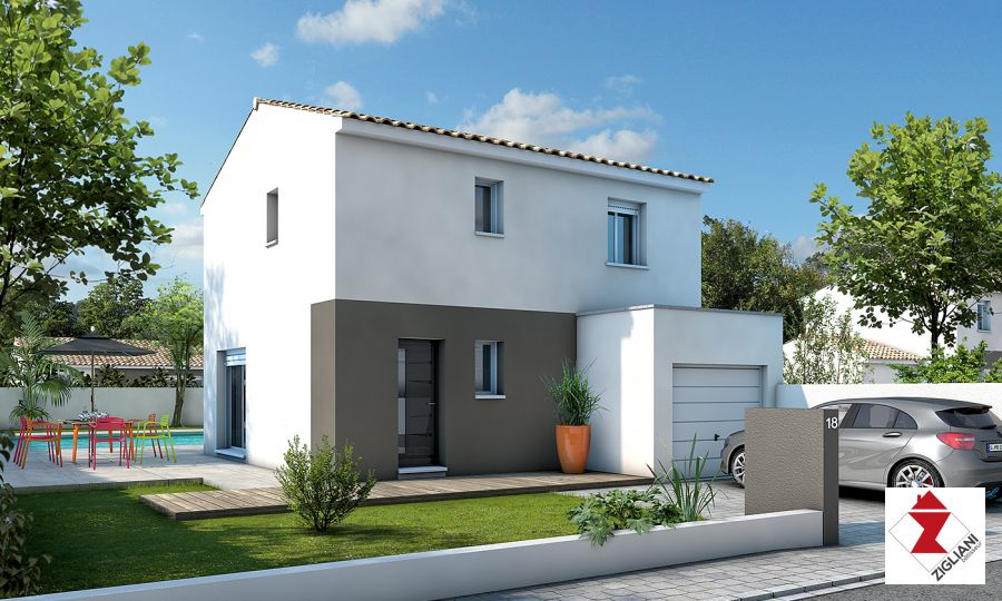 Maisons du constructeur ZIGLIANI BATISSEUR - AGENCE DE MONTPELLIER • 85 m² • VAILHAUQUES
