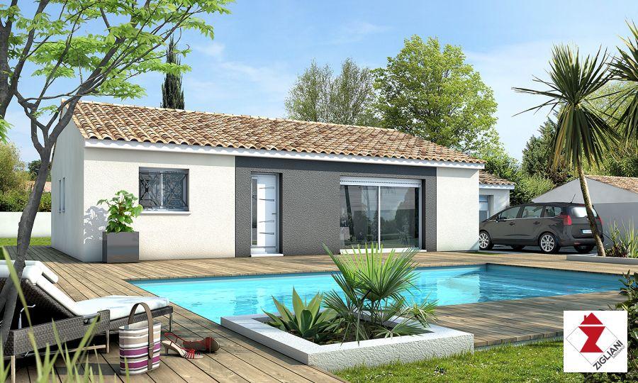 Maisons du constructeur ZIGLIANI BATISSEUR - AGENCE DE MONTPELLIER • 85 m² • COLOMBIERS