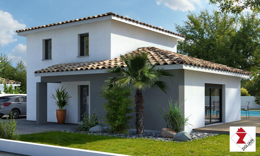 Maisons du constructeur ZIGLIANI BATISSEUR - AGENCE DE MONTPELLIER • 87 m² • LE POUGET