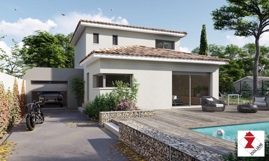 Maisons du constructeur ZIGLIANI BATISSEUR - AGENCE DE MONTPELLIER • 90 m² • GRABELS