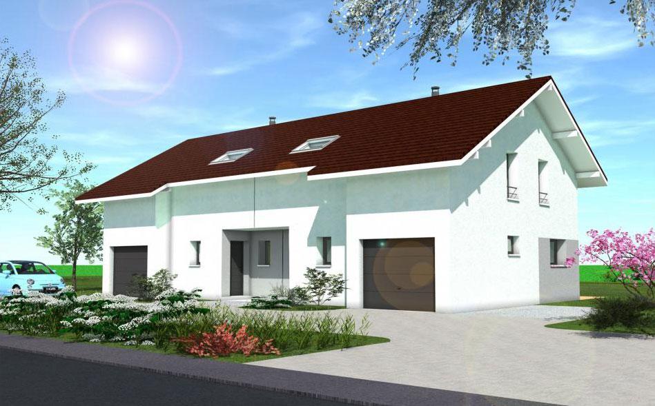 Maisons + Terrains du constructeur ARTIS • 85 m² • PRINGY