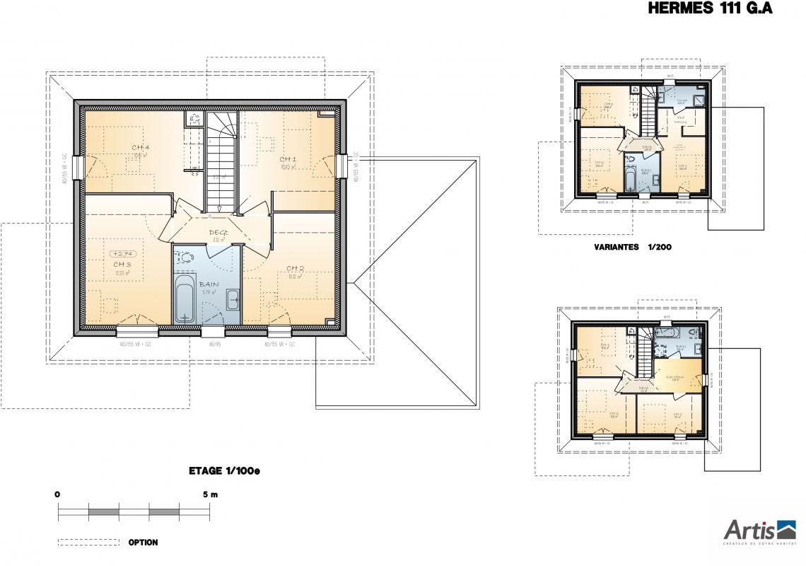 Maisons + Terrains du constructeur ARTIS • 111 m² • PEILLONNEX