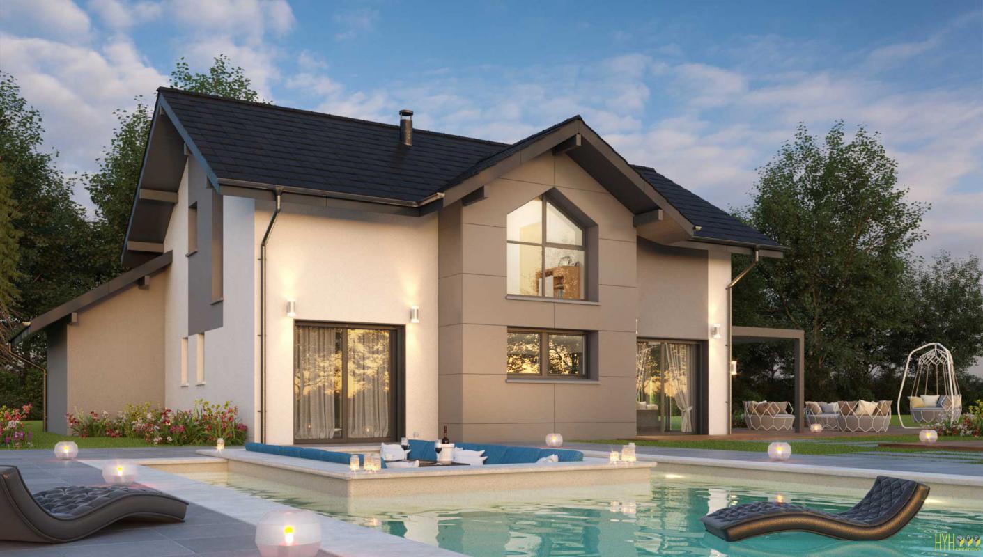 Maisons + Terrains du constructeur ARTIS • 121 m² • CUSY