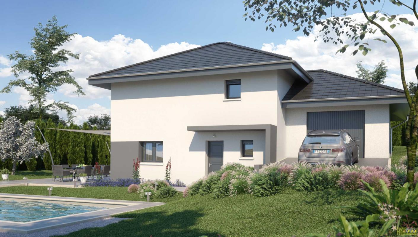 Maisons + Terrains du constructeur ARTIS • 110 m² • DINGY EN VUACHE