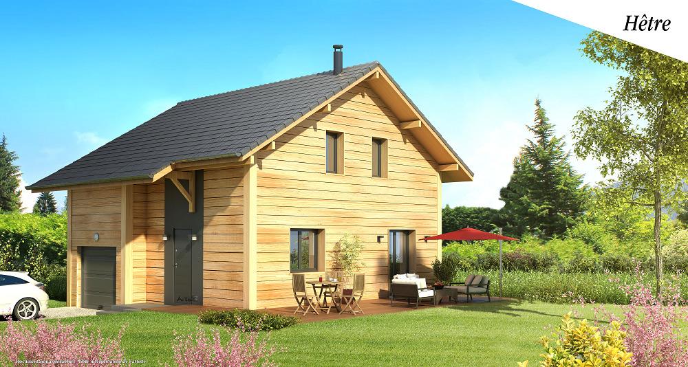 Maisons + Terrains du constructeur ARTIS • 80 m² • CONTAMINE SUR ARVE