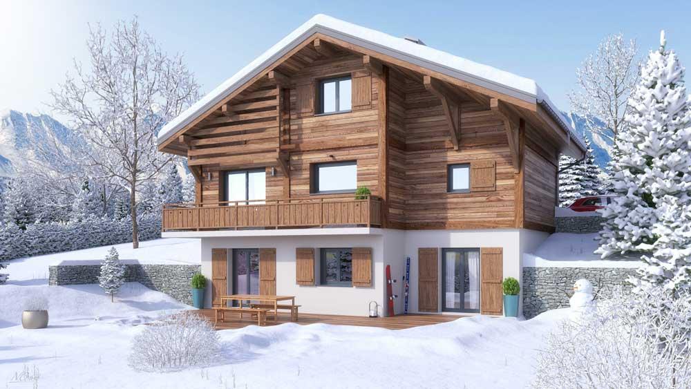Maisons + Terrains du constructeur ARTIS • 136 m² • SAINT GERVAIS LES BAINS