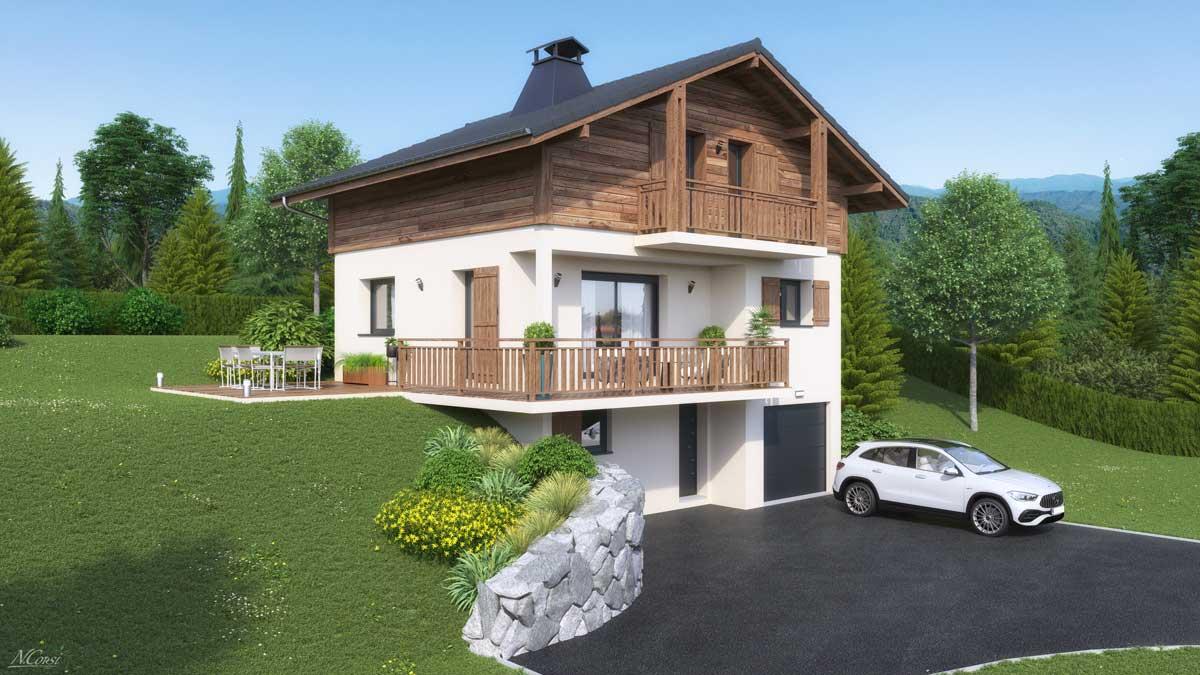 Maisons + Terrains du constructeur ARTIS • 121 m² • SALLANCHES