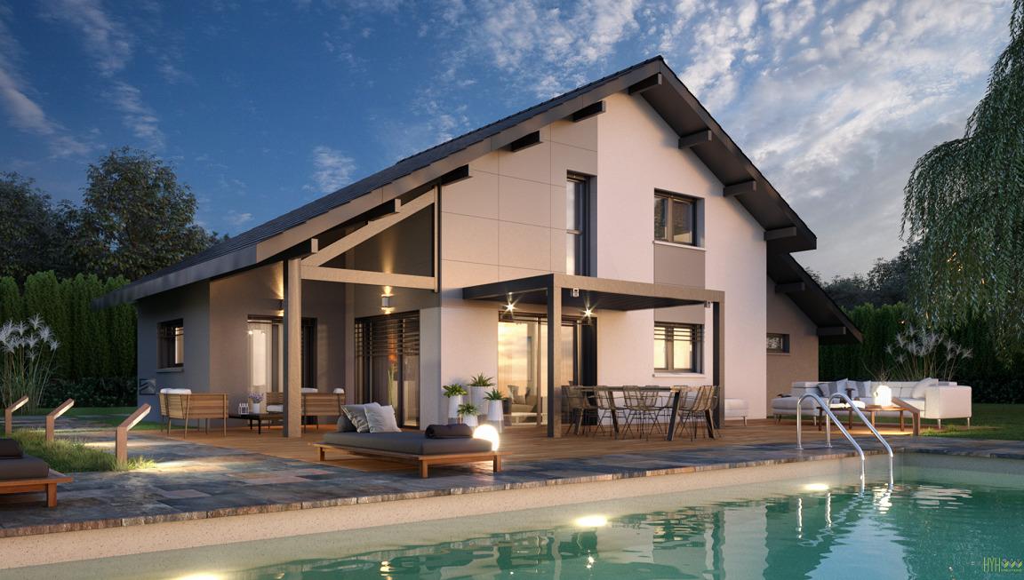 Maisons + Terrains du constructeur ARTIS • 130 m² • DOUSSARD