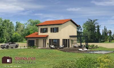 Maisons du constructeur DEMEURES RHONE ALPES • 95 m² • SAINT LAGER