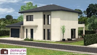 Maisons du constructeur DEMEURES RHONE ALPES • 95 m² • NEUVILLE SUR SAONE