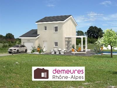 Maisons du constructeur DEMEURES RHONE ALPES • 80 m² • BELLEVILLE