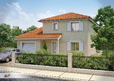 Maisons du constructeur DEMEURES RHONE ALPES • 96 m² • BELLEVILLE