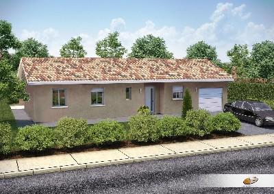 Maisons du constructeur DEMEURES RHONE ALPES • 90 m² • BELLEVILLE