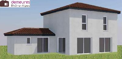 Maisons du constructeur DEMEURES RHONE ALPES • 116 m² • CHASSELAY