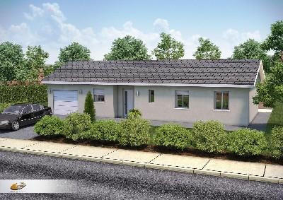 Maisons du constructeur DEMEURES RHONE ALPES • 95 m² • BELLEVILLE