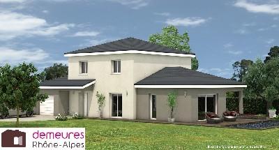 Maisons du constructeur DEMEURES RHONE ALPES • 110 m² • PONTCHARRA SUR TURDINE
